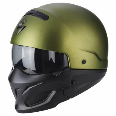 Scorpion Jethelm EXO-Combat Solid, grün matt
