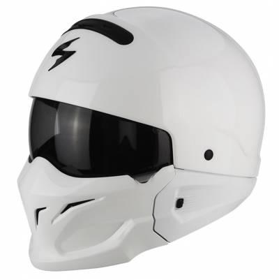 Scorpion Jethelm EXO-Combat Solid, weiß