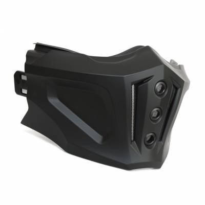 Scorpion Kinnteil für Covert-X, schwarz matt