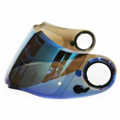 Scorpion Max Vision Visier KDF-11M für EXO 1000 / 500, blau verspiegelt