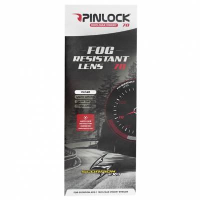 Scorpion Pinlock® Scheibe DKS 183 für ADX-1, klar