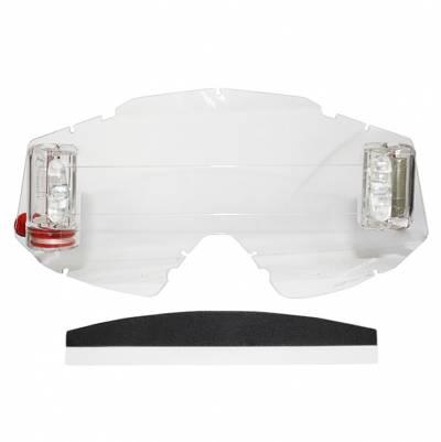 Scorpion Roll-Off Komplettset für E18 Brille, klar