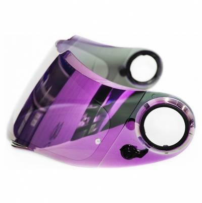 Scorpion Visier KDF-11M Exo-1000/500, violett verspiegelt