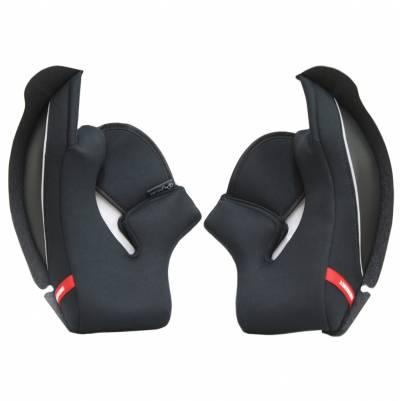 Scorpion Wangenpolster für EXO-510 Air 3D, schwarz