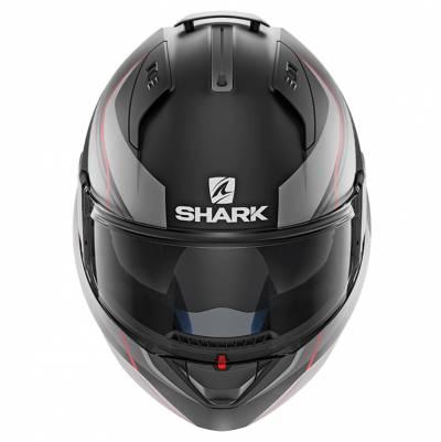 Shark Helm Evo-One 2 Blank Mat, schwarz-grau-rot matt