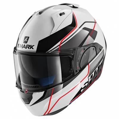 Shark Helm Evo-One 2 Krono, weiß-schwarz-rot