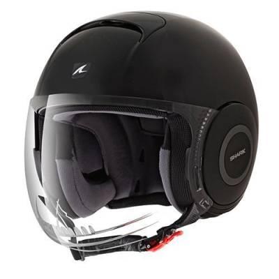 Shark Helm Micro Kiss, schwarz-rot