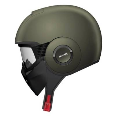 Shark Helm Raw, olive-matt