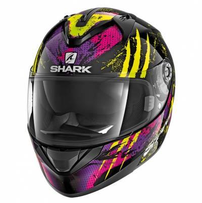 Shark Helm Ridill Threezy, schwarz-pink-gelb
