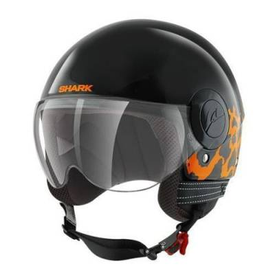 Shark Helm SK by Shark Chilka, schwarz-leo orange