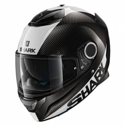 Shark Helm Spartan Carbon Skin, schwarz-weiß