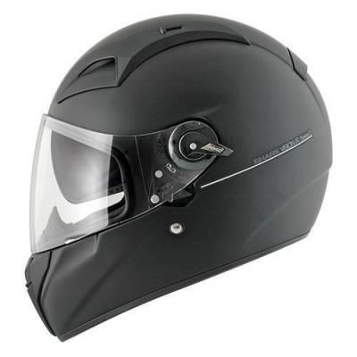 Shark Helm Vision-R2 BLANK Mat Black Metal Mat, schwarz-matt