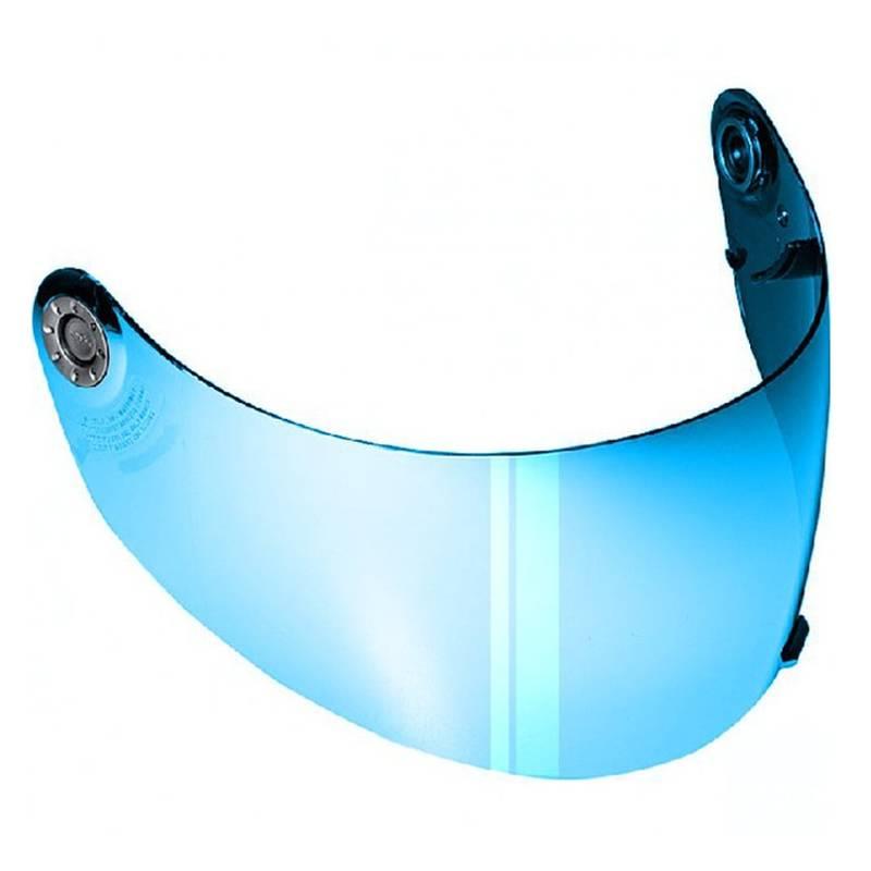 Shark Visier, blau verspiegelt