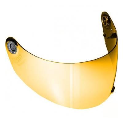 Shark Visier, gold verspiegelt