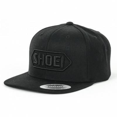 Shoei Cap Snapback, schwarz