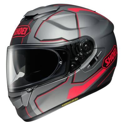 Shoei GT-Air Pendulum TC-10, silber-rot-schwarz