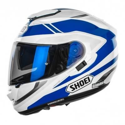 Shoei GT-Air Swayer TC-2, weiß-blau