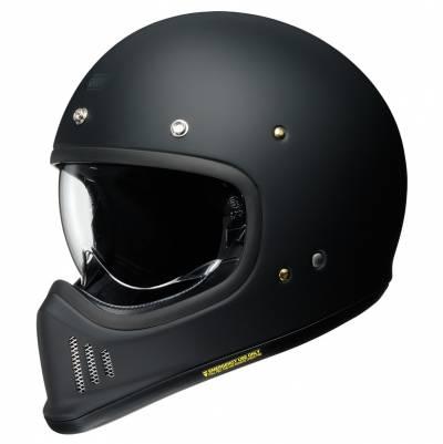 Shoei Helm EX-Zero, schwarz matt