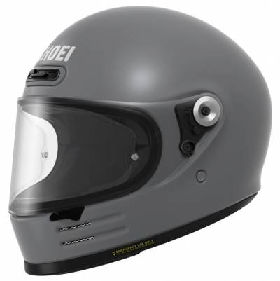 Shoei Helm Glamster, grau