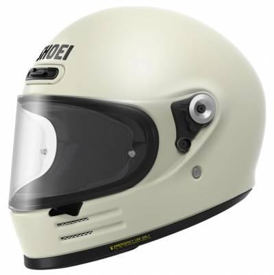 Shoei Helm Glamster, weiß
