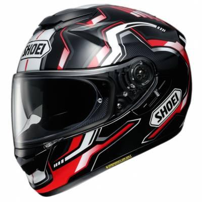 Shoei Helm GT-Air Bounce TC-1, schwarz-rot-weiß