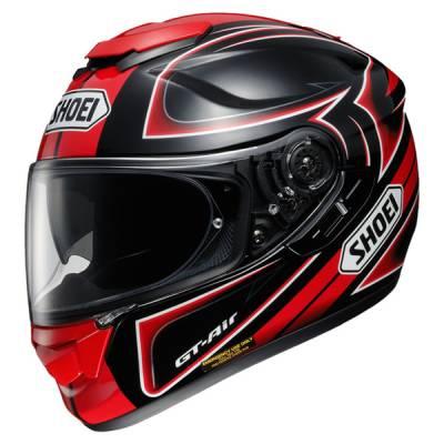 Shoei Helm GT-Air Expanse TC-1, schwarz-rot