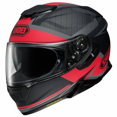 Shoei Helm GT-Air II Affair TC-1, schwarz-rot matt