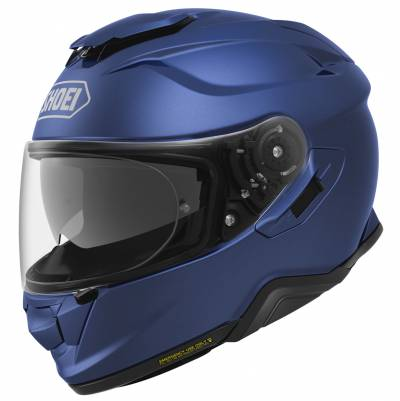 Shoei Helm GT-Air II, blau metallic matt