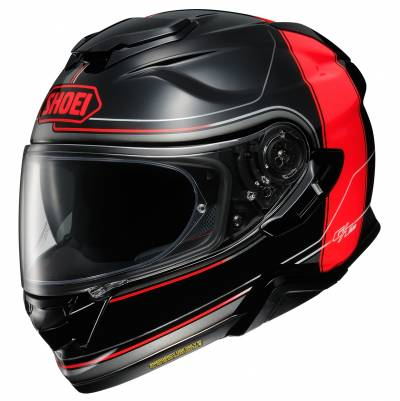 Shoei Helm GT-Air II Crossbar TC-1, schwarz-rot