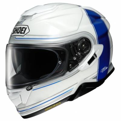 Shoei Helm GT-Air II Crossbar TC-2, weiß-blau
