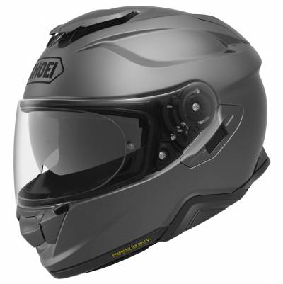 Shoei Helm GT-Air II, dunkelgrau matt