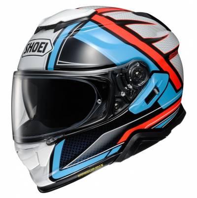 Shoei Helm GT-Air II Haste TC-2, blau-orange
