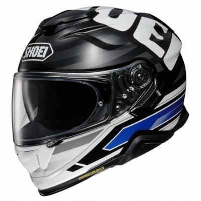 Shoei Helm GT-Air II Insignia TC-2, blau-schwarz-weiß