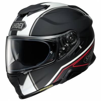 Shoei Helm GT-Air II Panorama TC-5, schwarz-weiß-rot matt