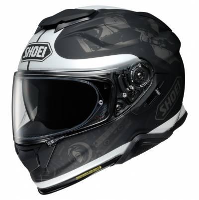 Shoei Helm GT-Air II Reminisce TC-5, schwarz-weiß matt