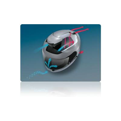 Shoei Helm GT-Air, schwarz
