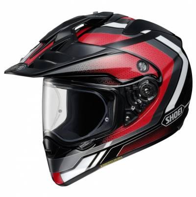 Shoei Helm Hornet-ADV Sovereign TC-1, schwarz-rot-weiß