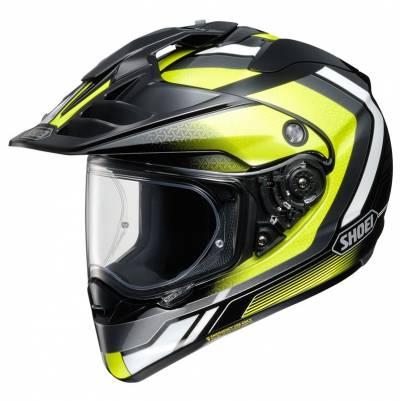 Shoei Helm Hornet-ADV Sovereign TC-3, schwarz-gelb-weiß