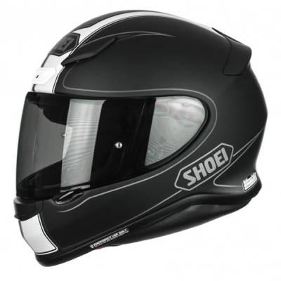 Shoei Helm NXR Flagger TC-5, schwarz-weiß-matt