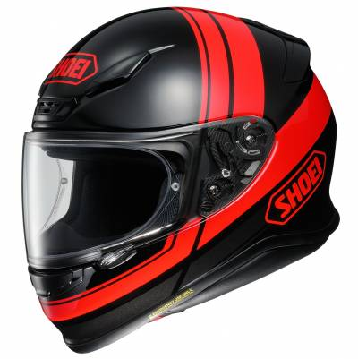 Shoei Helm NXR Philosopher TC-1, schwarz-rot