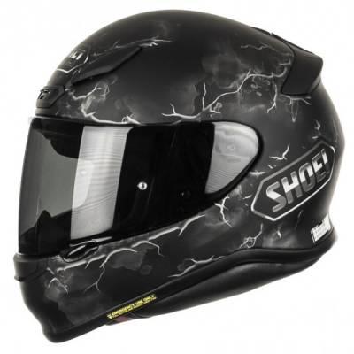 Shoei Helm NXR Ruts TC-5, schwarz-grau-weiß-matt
