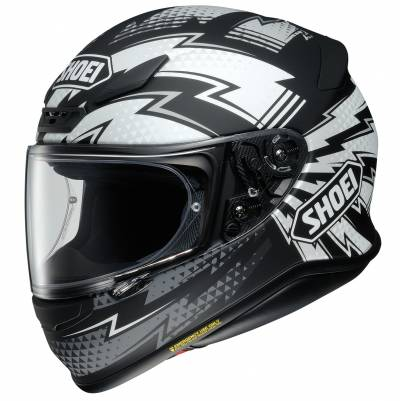 Shoei Helm NXR Variable TC-5, schwarz-grau-weiß