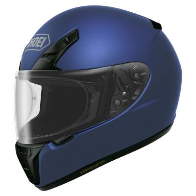 Shoei Helm RYD, blau metallic matt