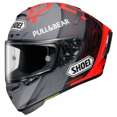 Shoei Helm X-Spirit III MM93 Black Concept 2.0, grau-rot-schwarz