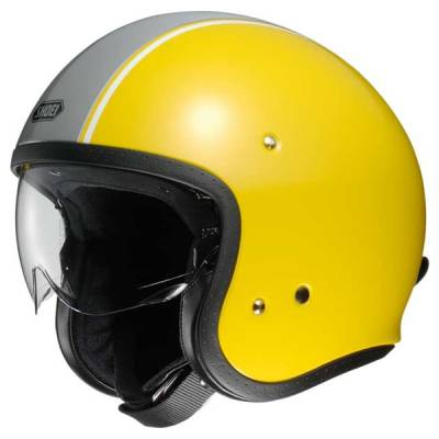 Shoei Jethelm J.O Carburettor TC-3, gelb-grau