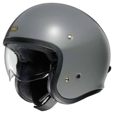 Shoei Jethelm J.O, rat grey