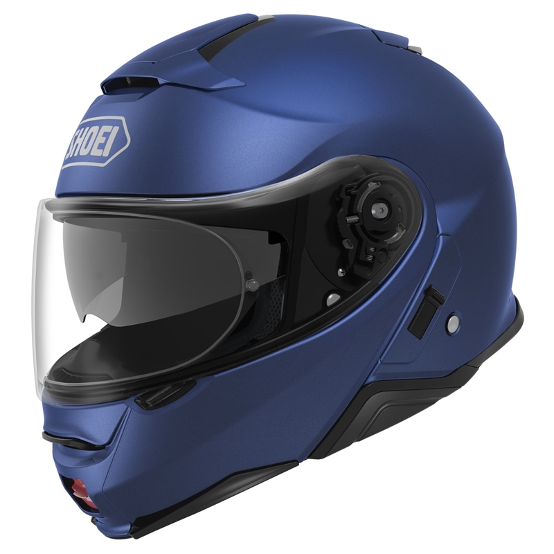 Shoei Klapphelm Neotec II, blau matt metallic
