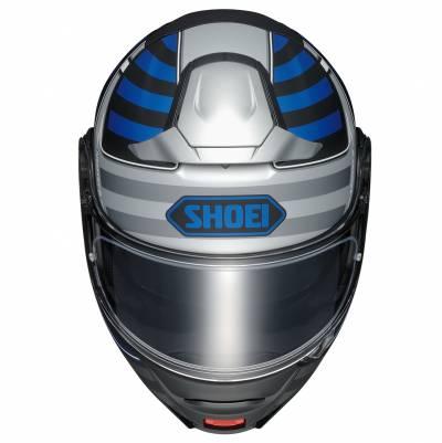 Shoei Klapphelm Neotec-II Splicer TC-2, schwarz-blau-silber