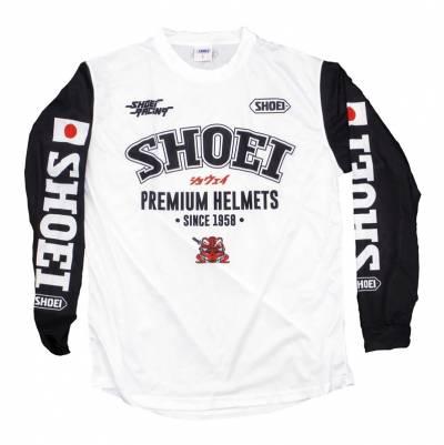 Shoei Shirt MX, schwarz-weiß