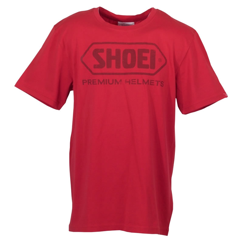 Shoei T-Shirt, rot